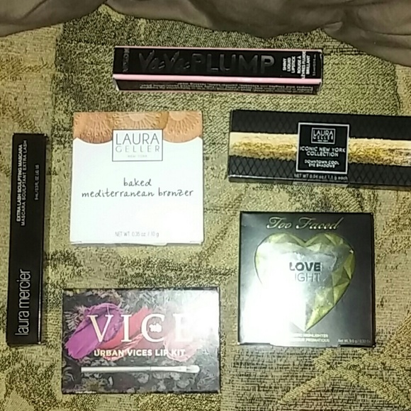 Too Faced Other - Huge Makeup Lot too faced urban decay laura geller